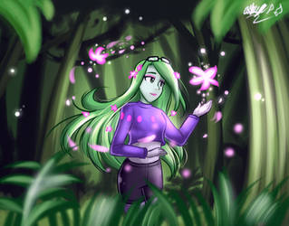AO: DTIYS Plant Girl by Gentle-As-A-Lily