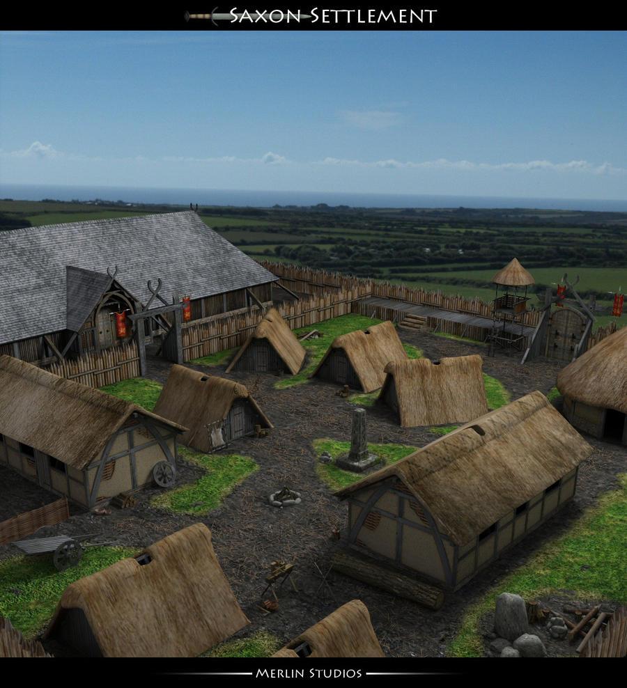 Saxon Settlements