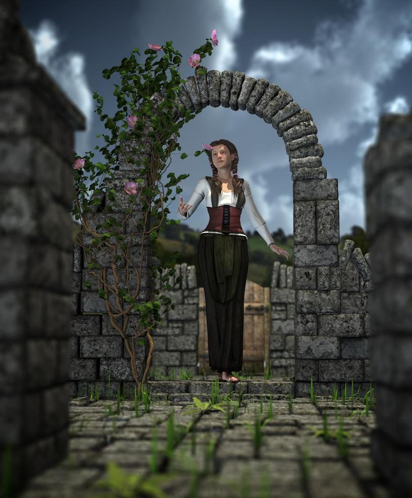 Smelling the Roses by MerlinsArtwork