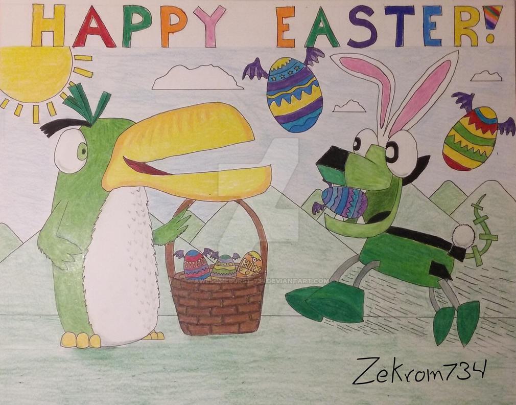 Happy Easter! by Zekrom734
