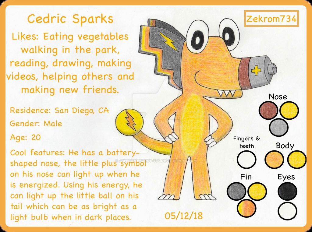 Cedric Sparks by Zekrom734
