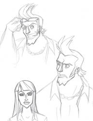 OP Disney: Franky sketches by persephohi