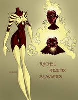Rachel Summers Evo style by persephohi