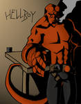 My first Hellboy in color