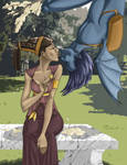 Eros and Psyche Evolution by persephohi