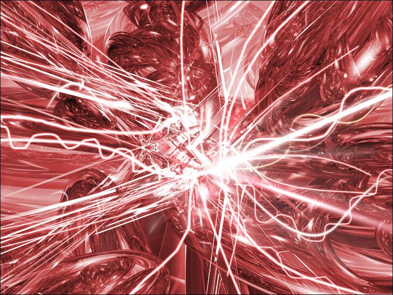 red explosión