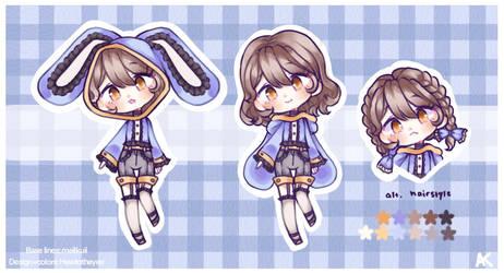 (closed) Bunny Hoodie Adoptable OTA/BTA