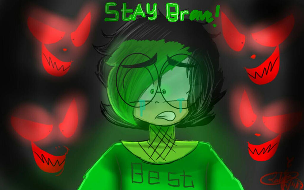 stay brave eleven gamezone  by Lady--Fantasy