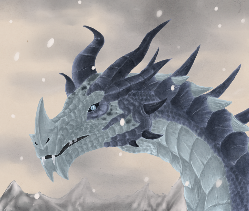 .:Frost dragon:. by ThousandLeaves on DeviantArt