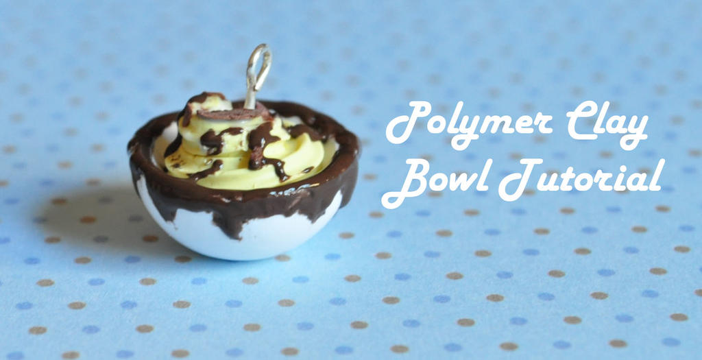 Polymer Clay Bowl Tutorial by songinthesnow