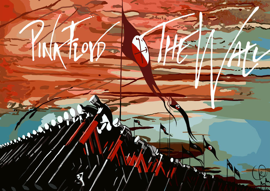 pink floyd the wall by blackcyanide fr on deviantart