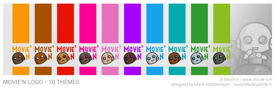 Movie'n Logos by BlackCyanide-fr