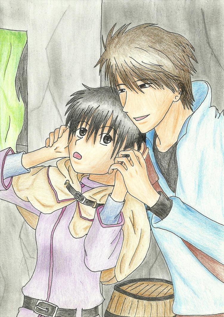 Conrad and Yuuri by Faito-chan