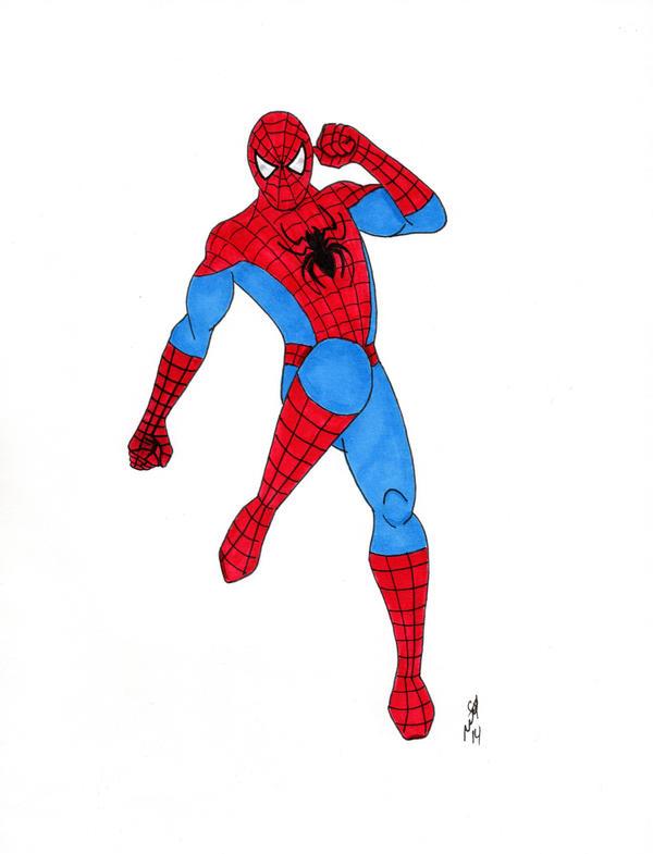 Spider-Man by MJStarchilde