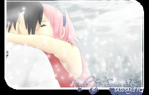 SasuSaku : Snow Kiss by asha3