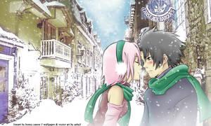 SasuSaku - Sweet Winter v.2 by asha3
