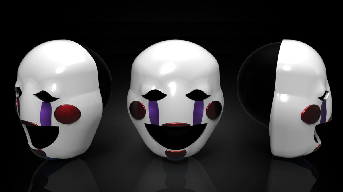The marionette s mask fnaf by shadowlinkster on deviantart