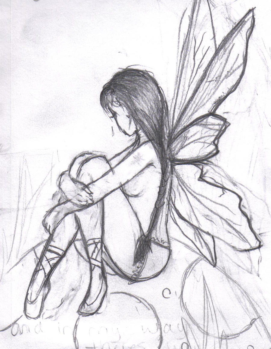 GALLERY: Gothic Angels And Fairies Drawing
