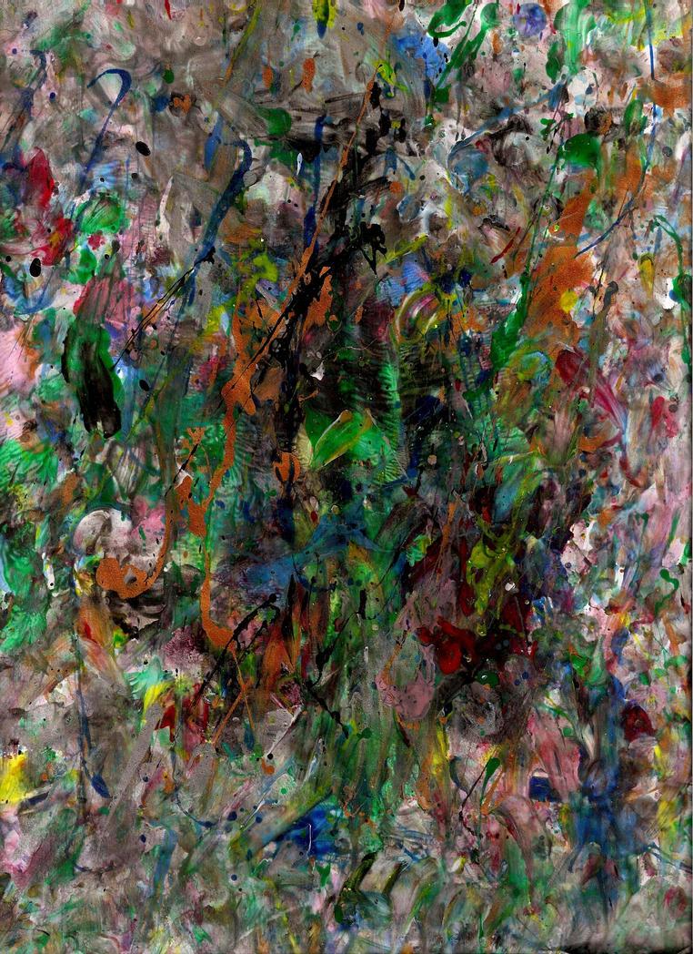 Crazy Painting Zombie Bite By Janemarieburnley19 On Deviantart