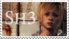 SILENT HILL 3 - HEATHER STAMP by Morgwaine