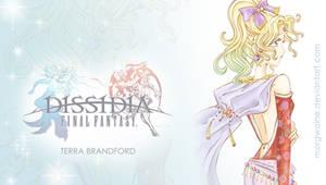 PSP Wallpaper Dissidia: Terra