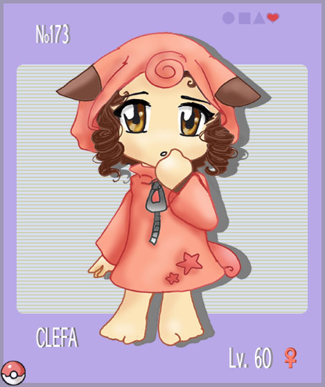 PKMN.173 : Clefa by Morgwaine