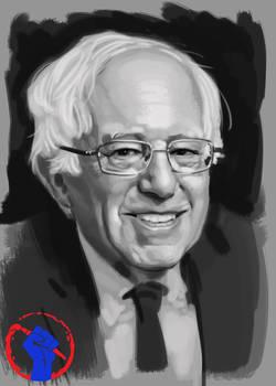 Bernie Sanders Speedpaint