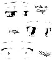 Anime Eye Practice by BluIceyy