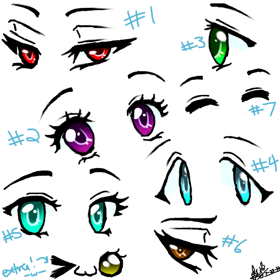 HAVE SOME ANIME EYES