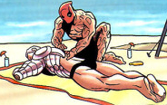 Deadpool and Cable avatar by Icelandicguy