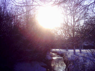 The Streaming Sun by TheFakePixie
