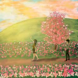 Girl see the light by hendricsimarmata
