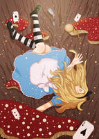 Alice In Wonderland by hxnabii
