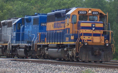 Marquette Rail by Mid-MichiganRR24GP9