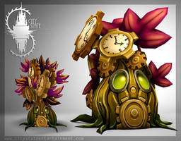 Tick Tok concept art to model by CityState