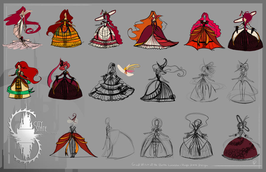 early concepts - good witch by CityState