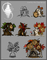 Clock Tree - round 2 concepts