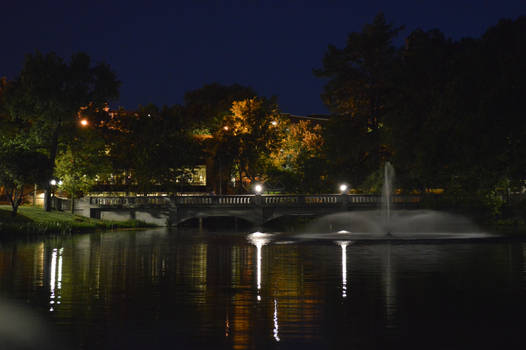 Wooster Bridge at Night