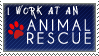 Animal Rescue Stamp by Breezantines