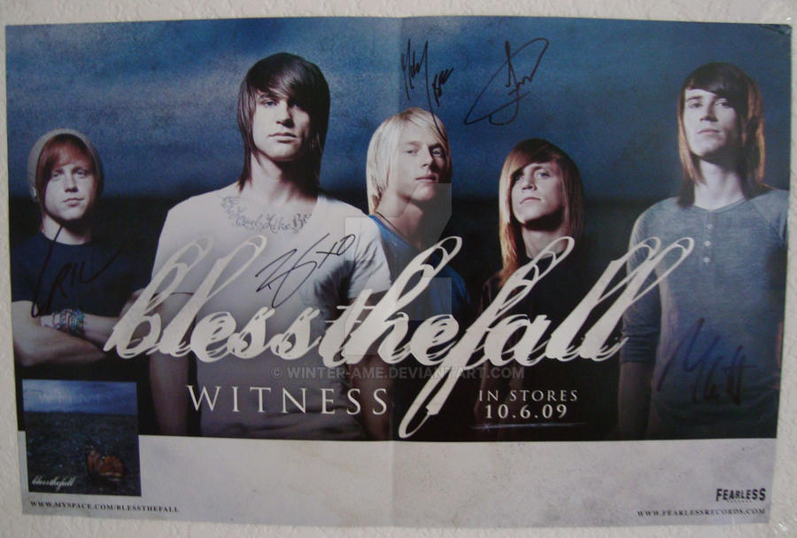 BlessTheFall Poster by winter-ame