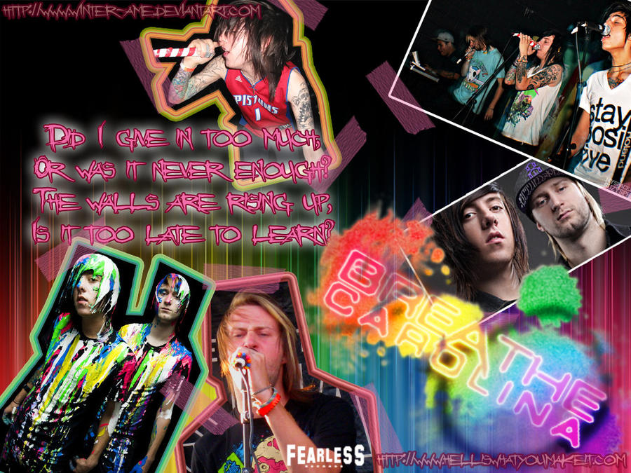 Breathe Carolina Wallpaper by winter-ame