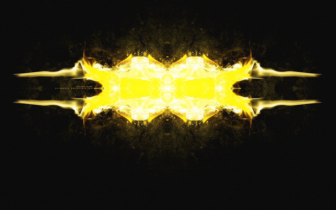 Golden Flare by xxRapeKxx