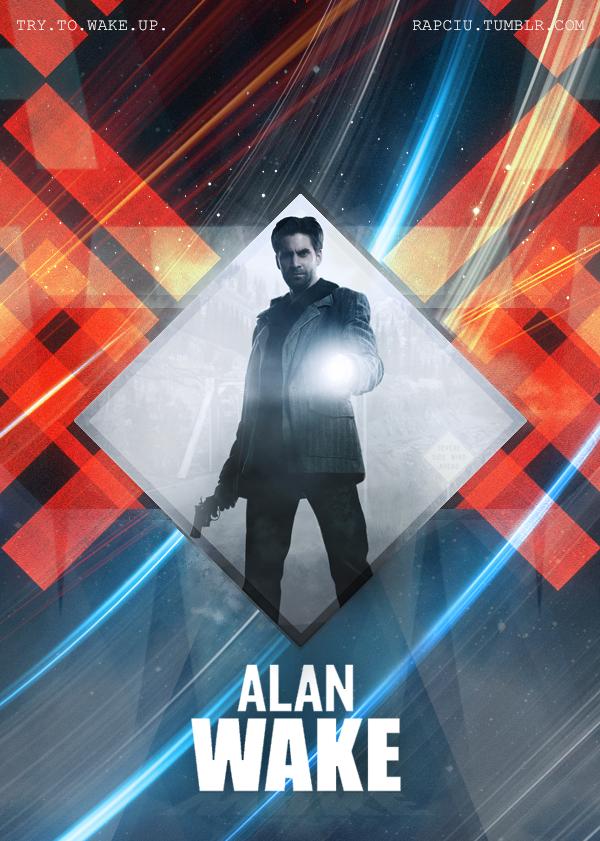 Alan Wake - Try to wake up by xxRapeKxx