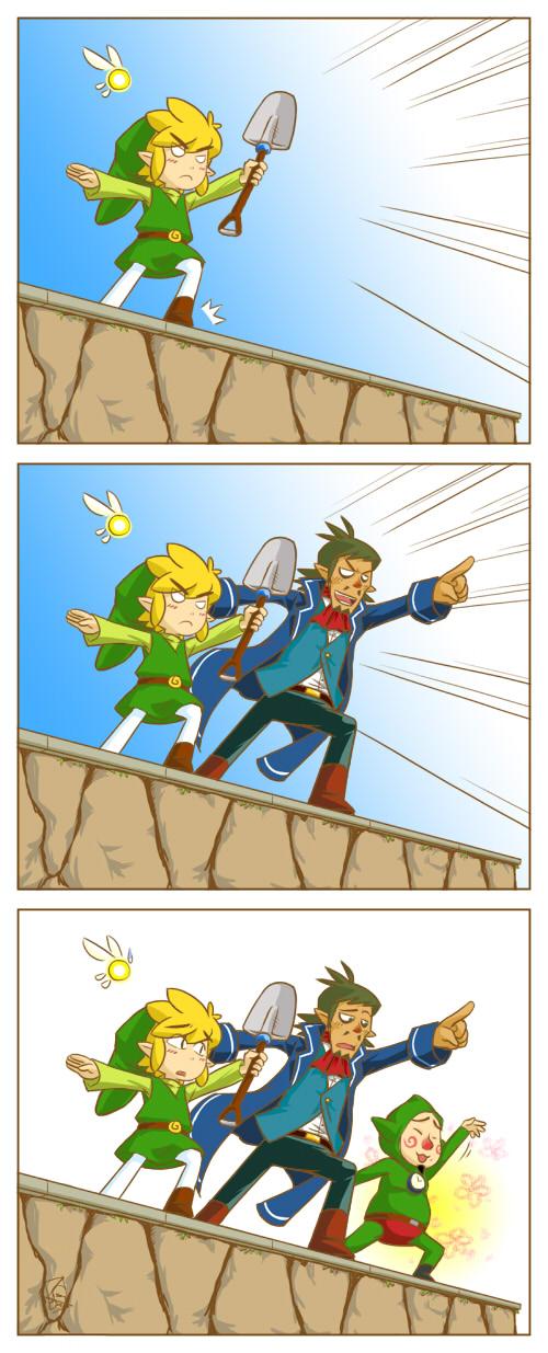 ... euh j'peux la mettre là la - Page 2 Zelda___Treasure_Hunters_by_swammi
