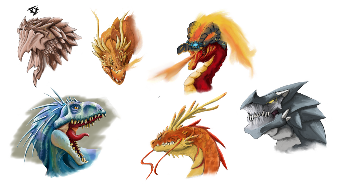 Dragonsaurios by Capitan-Mark-Antony