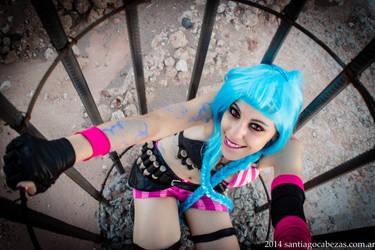 Caged Jinx by eldark