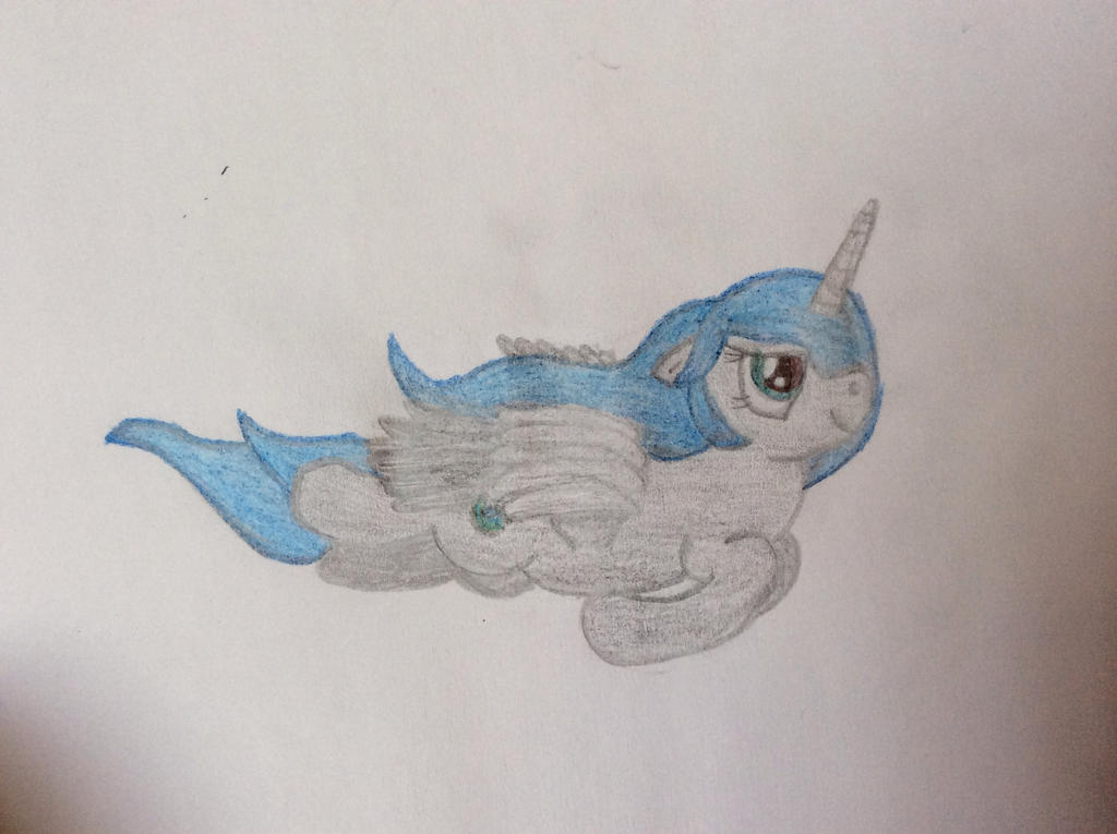 Dusk Shadow's Flying... Again. by RandomeLight