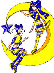 Moon and Star Twins
