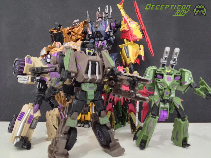 combaticons fall of cybertron by darkmagmaroy491 on