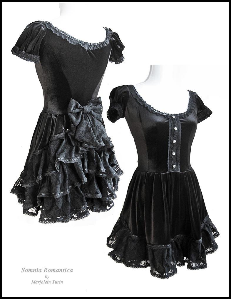 Dress Chanson, Somnia Romantica by Marjolein Turin by SomniaRomantica